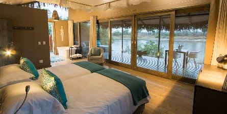 Private Island lodge on the Zambezi welcomes first guests